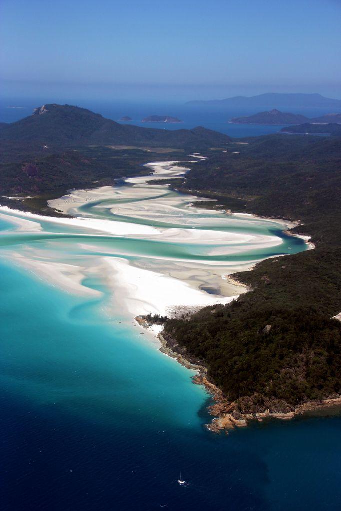 Most Beautiful Places To Travel: whitehaven beach, australia