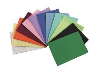 Campo estéril de diferentes colores.