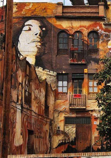 El niño de las pinturas - Granada - Spain