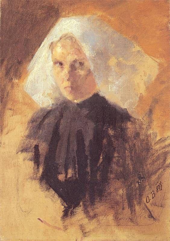 Olga Boznanska: Studium zakonnicy