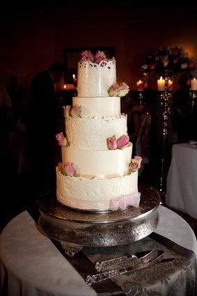 Spectacular white chocolate cake