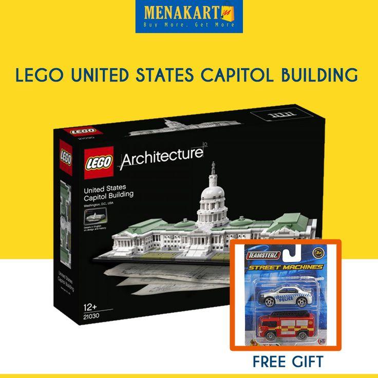 LEGO United States Capitol Building #Toys #LEGO #Online #Shopping #Menakart