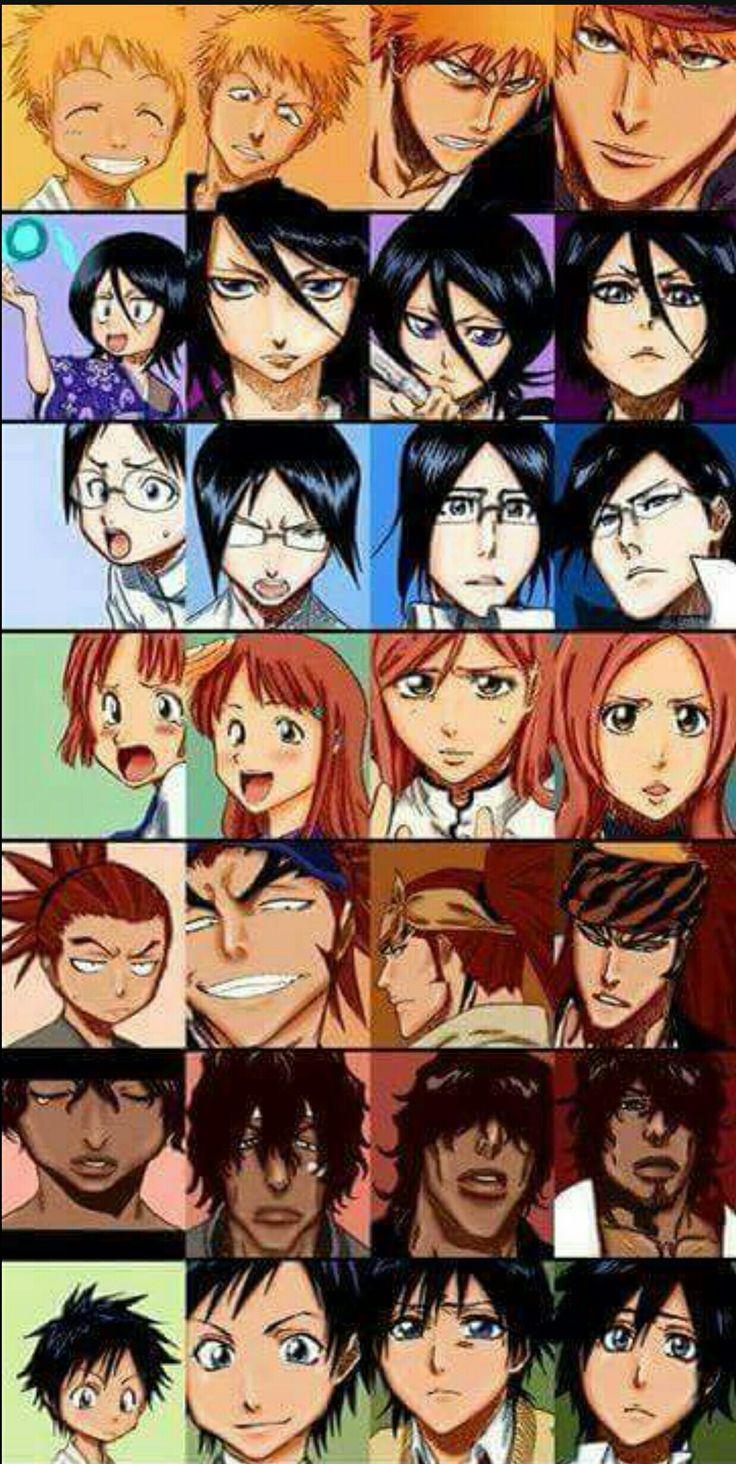 Then and Now / Bleach Bleach anime ichigo, Bleach anime