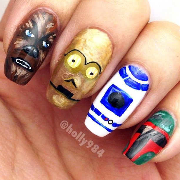 Nerdy Nail Designs: 30 Awesome Manis for Geek Goddesses