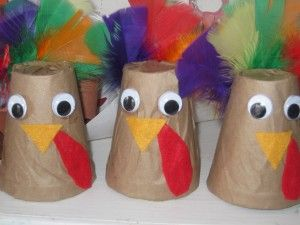 Making centerpieces for our Thanksgiving feast | Teach Preschool