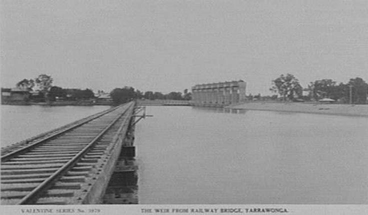 Yarrawonga Railway Bridge and Weir