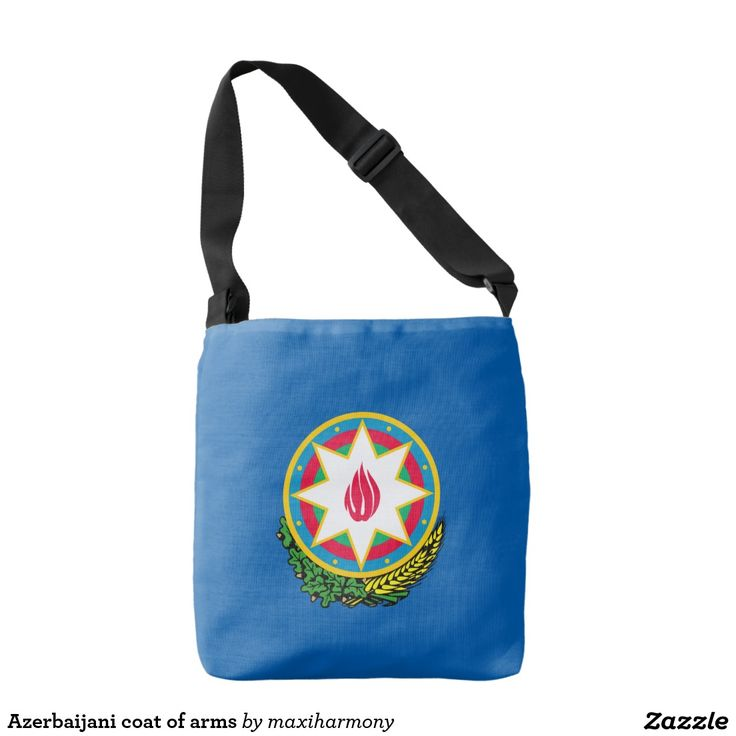 Azerbaijani coat of arms tote bag