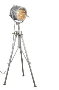 HOLLYWOOD SEARCH LIGHT - Vintage Industrial Floor Lamp - Select Lighting