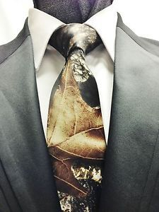 Mouse over image to zoom         NEW Men's Mossy Oak Camo Neck Tie & Hankie Alpine Camouflage Wedding Prom Formal