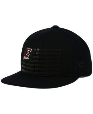Top of the World Eastern Kentucky Colonels Saluter Snapback Cap - Black Adjustable