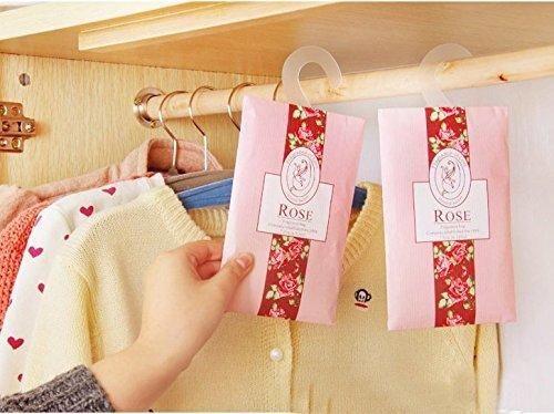 Indoors hanging natural fragrance wardrobe sachet bag wardrobe car pest control mildew odor aromatherapy (1 ocean)