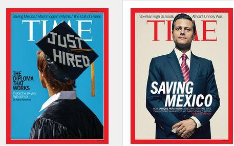 La revista Time dedica portada al Presidente Peña Nieto en su edición de febrero - Internacionales, Nacionales, Nota Destacada de Hoy, Notic...