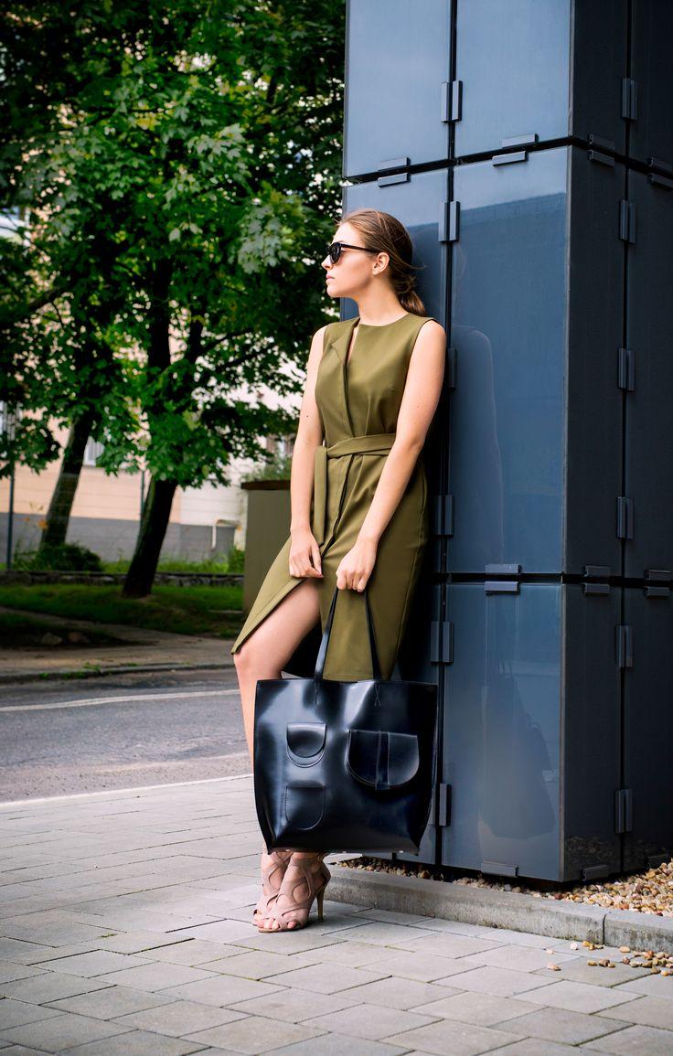 Simple work dress