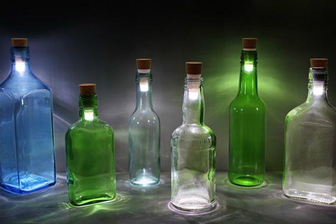Как превратить бутылку в лампу - ШтукиШтуки