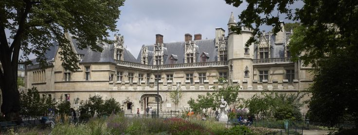 Cluny Museum. The medieval Museum of Paris. Houses the wonderful tapestry The Lady and the Unicorn