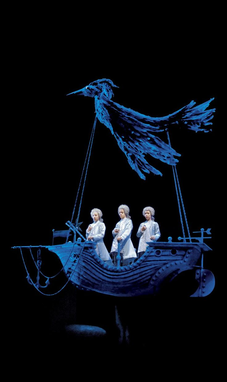 THE MAGIC FLUTE  Wolfgang Amadeus Mozart - WHAT IF THE ARK WAS A PIRATE SHIP?