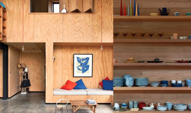 Résidence de Davor Popadich / O'Connor et Houle Architecture à Melbourne photographié par Earl Carter via Goodmoods