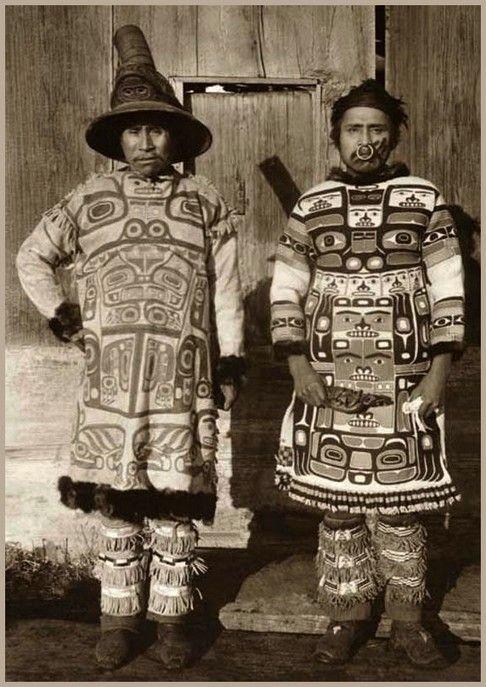 Coudahwot 'n Yehlh-gouhu, Chiefs o' Gunax'tadi in Klukwan, Alaska, 1895