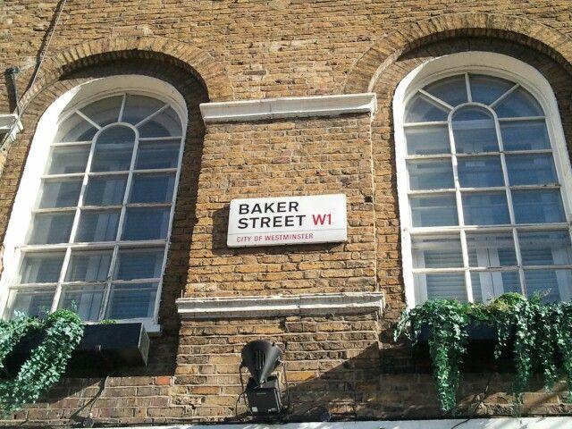 ベイカーストリート/BAKER STREET @London