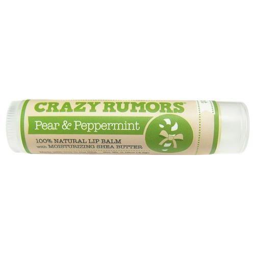 Balzám na rty Pear & Peppermint | Hruška a máta Crazy Rumors