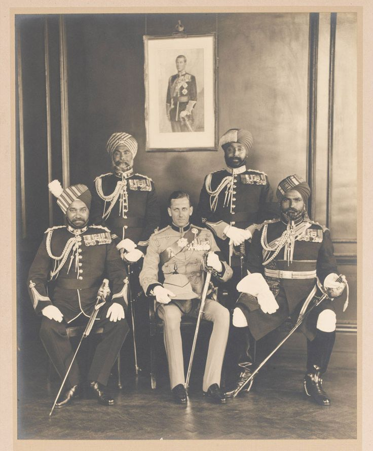 King S Indian Orderly Officers 1936 The Personnel