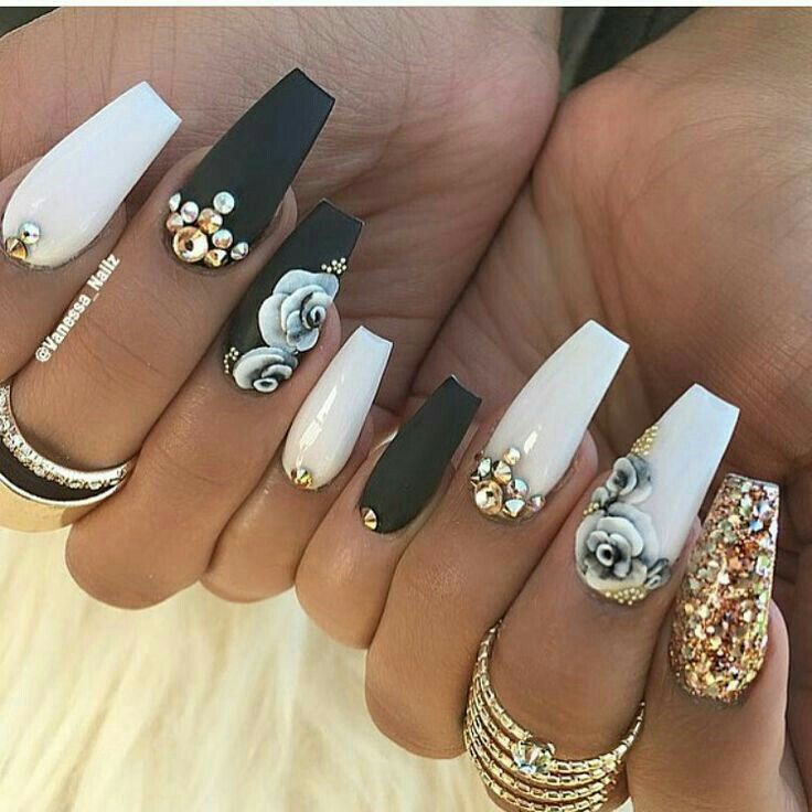 Prom Nail Ideas For Long: Best 25+ Birthday Nail Designs Ideas On Pinterest