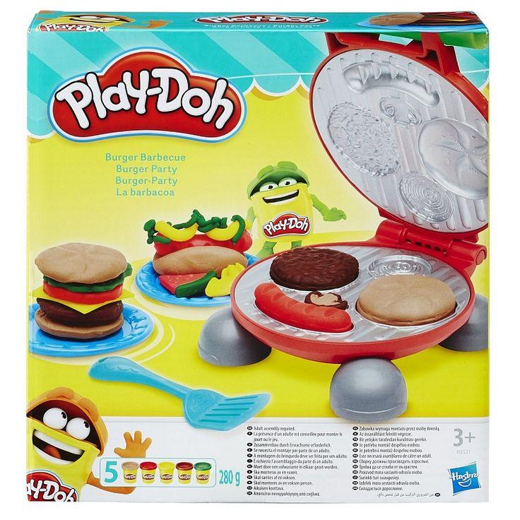 Play-Doh, Hamburgery, zestaw kreatywny