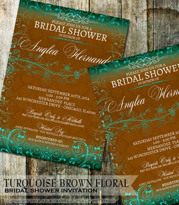 143 best Printable Bridal Shower Invitations and Stationery images - printable bridal shower invites