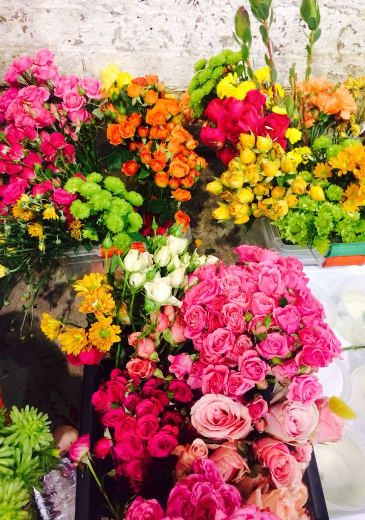Flowers at finders keepers markets