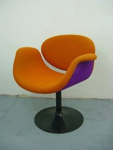 """Little Tulip"" chair, Designer: Pierre Paulin (France , 1927 -2009 )  Design year: 1965  Maker: Artifort , Netherlands"