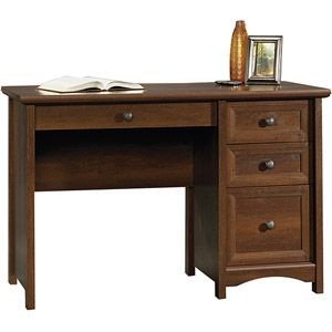 ... Staples Sauder Computer Desk With Sauder Shoal Creek Executive Desk  Jamocha Wood Also Sauder Shoal Creek ...
