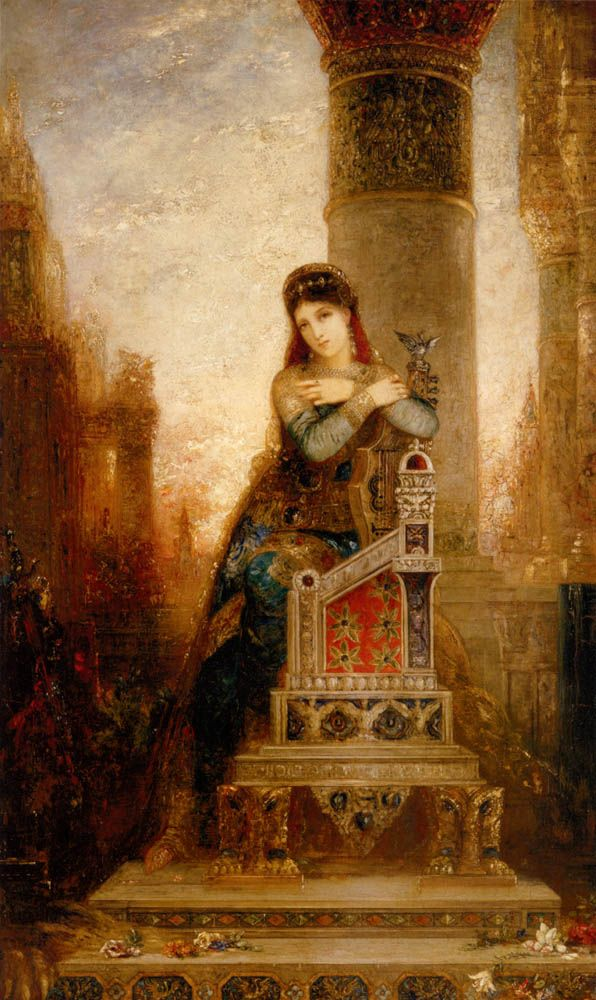 """""""Desdemona"""" by Gustave Moreau (French 1826-98)"""