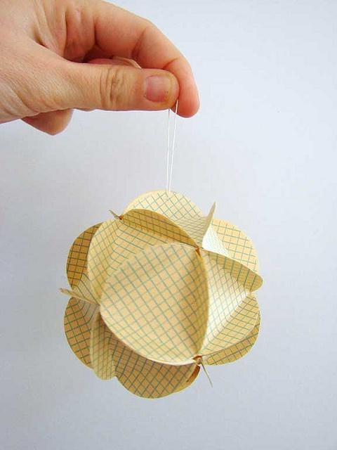 graph paper ornament