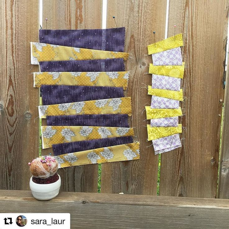 Look how cute!!! Such a happy little pincushion! And I really want to know what Sara is making!!! -K  #hunterandthistledecor #tendaysofthistle #moreinstore #shopnow #linkinbio . . . #Repost @sara_laur (@get_repost)  A couple more stripe sets I'm not ready to join them all together yet but I'll have to lay them out at some point to see how they are all working together  Really enjoying this! . #improvstripesqal  #improvstripes #improvpiecing