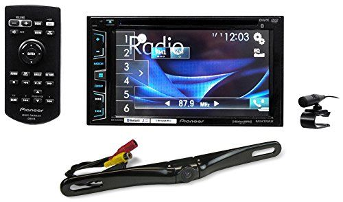 """Package: Pioneer AVH-X2800BS 6.2"""" 2-Din DVD/CD/MP3 Car Audio Monitor/Receiver With Bluetooth + Rockville RBC5B Black Rearview Backup License Plate Bar Camera - http://www.caraccessoriesonlinemarket.com/package-pioneer-avh-x2800bs-6-2-2-din-dvdcdmp3-car-audio-monitorreceiver-with-bluetooth-rockville-rbc5b-black-rearview-backup-license-plate-bar-camera/  #2Din, #AUDIO, #AVHX2800BS, #Backup, #Black, #Bluetooth, #Camera, #DVDCDMP3, #License, #MonitorReceiver, #Package, #Pioneer"""