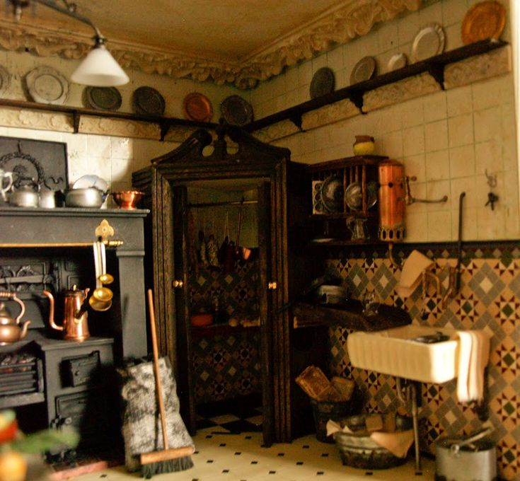 135 best victorian kitchens images on pinterest | victorian