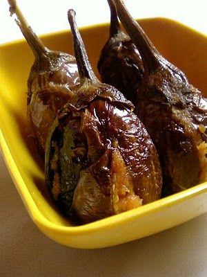 Gutti Vankaya Ulli Karam (Stuffed Eggplant with Onion) - Authentic #andhra #recipe