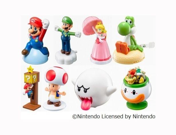 """McLanche Feliz terá brinquedos de """"Super Mario"""" em novembro"""