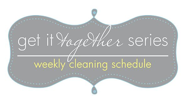 Blooming Homestead: Weekly Cleaning Schedule- free printable that you can edit & customize! :)