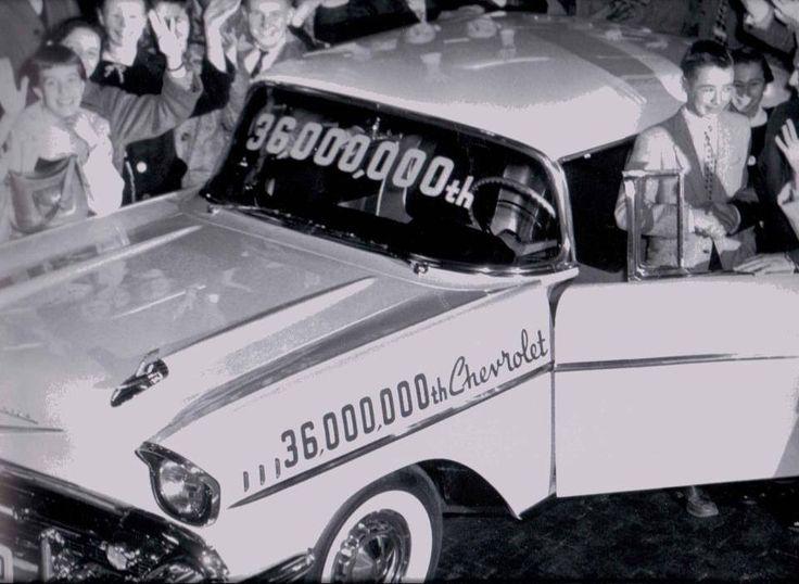 '57 Chevy Bel Air 36,000,000 vehicle