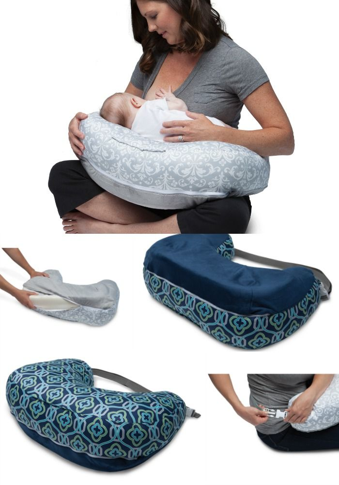 Nursing Favorites: Boppy Best Latch Breastfeeding Pillow | This new pillow design is the glorious trifecta of soft, supportive, and easy to clean. A literal GIFT to the back of a nursing mom!