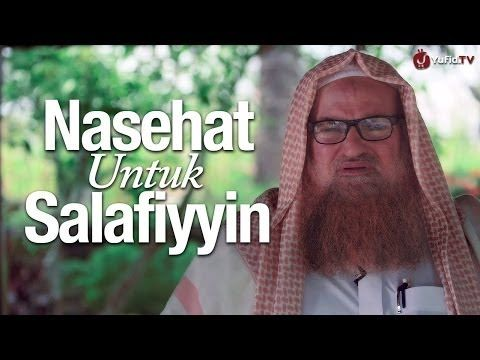 Video Eksklusif Yufid.TV: Nasihat untuk Salafiyyin | Syaikh Dr. Muhammad bin Musa Alu Nashr | Artikel Islam Salafiyah Ahlus Sunnah wal Jamaah Free Download Gratis Ebook MP3 Video Turorial Ceramah Kajian Islam | SALAFIYUNPAD.wordpress.com