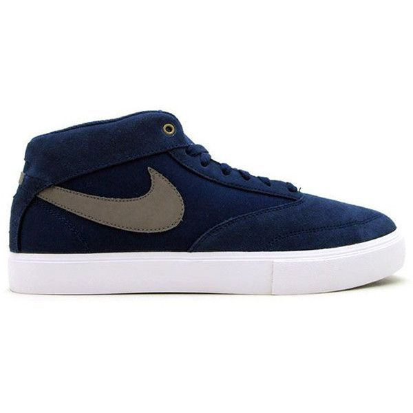Nike Omar Salazar - Midnight Navy/Metallic Grey (540.600 IDR) ❤ liked on Polyvore featuring men's fashion, shoes, athletic shoes and shoeclub