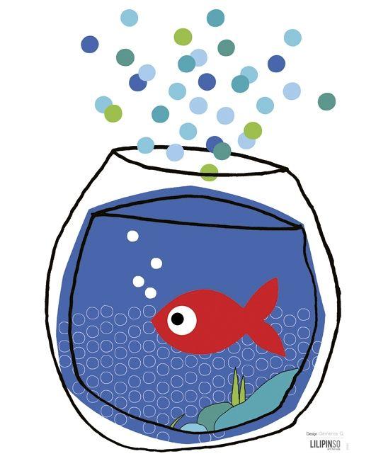 Les 25 meilleures id es de la cat gorie bocaux de poissons for Deco bocal poisson