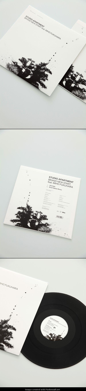 STUDIO APARTMENT / Brand New Start feat. Miho Fukuhara (Record Jacket)..
