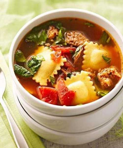 259 best soup images on pinterest drink food items and for Italian dinner