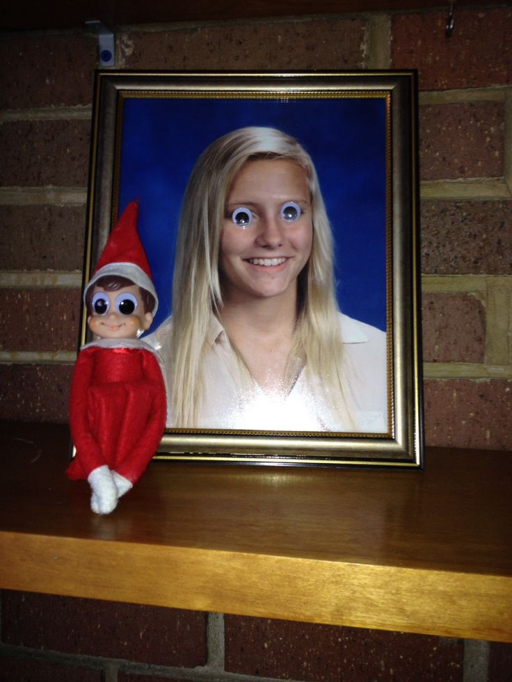 Elf on the Self ... Googly Eyes