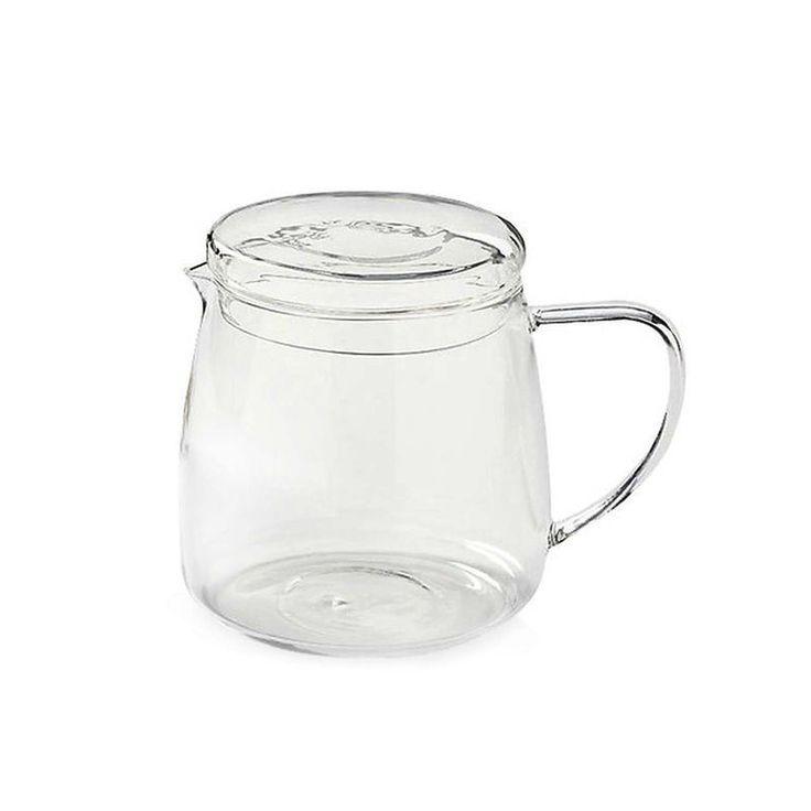 Teekanne Glas mit Deckel ca 1,5 Liter