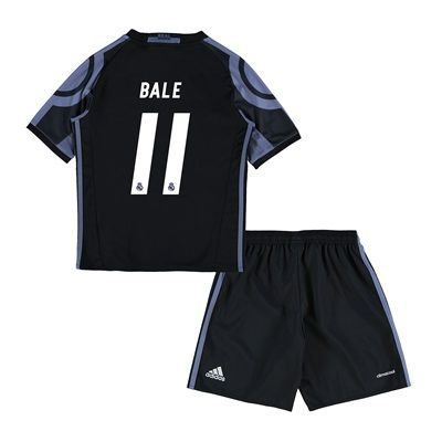 Real Madrid Third Mini Kit 2016-17 with Bale 11 printing: with Bale 11 printing #RealMadridShop #RealMadridStore