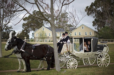 Peel Manor House does a big lux package for bridal party and guests. Likely to be awesome but very expensive.